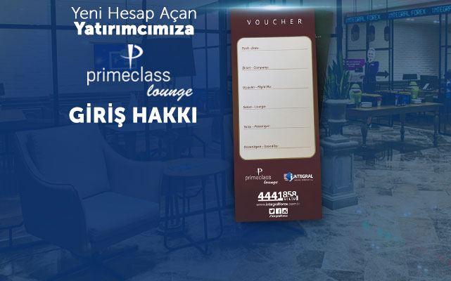 Primeclass Lounge Giriş Hakkı!